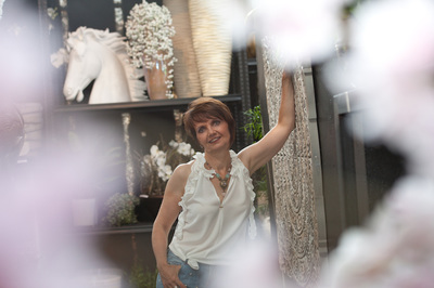 Rita Share. Jazz- und Gospelsängerin, Zürich