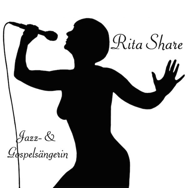 Logo Rita Share Jazz- und Gospelsängerin