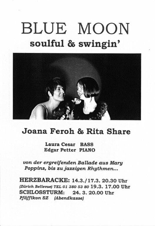 Rita Share. Blue Moon. Soul & Swing